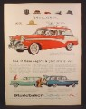 Magazine Ad for Studebaker Pinehurst Station Wagon, Pelham, Parkview, 1956