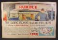 Magazine Ad for Humble Oil & Refining Company, 5 Companies Unite, ENCO Carter PATE Oklahoma, 1960