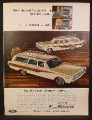 Magazine Ad for Mercury Colony Park & Comet Villager Station Wagon Cars, 1966