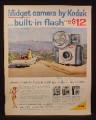 Magazine Ad for Kodak Midget Cameras, Brownie Starmite, Flashmite Starmeter, Starmatic, 1961