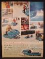 Magazine Ad For OMC Snow Cruiser Snow Machine, Snowmobile, 1965
