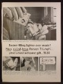 Magazine Ad For Ronson Triumph Lighter, Easiest Filling, 1953
