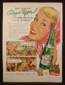 Magazine Ad For Canada Dry Ginger Ale, America's Ginger-Upper, Barn Dance, 1954