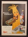 Magazine Ad For Mars Milky Way Chocolate Bar, Family Choice, Box of 24 Halloween, 1955