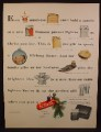 Magazine Ad For Ronson Lighters, Adonis, Princess, Essex, Lotus, Tropicana, Tempo, 1954