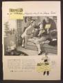 Magazine Ad For Happy Easter Telegram, Bunnygram, 1956