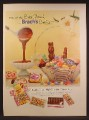 Magazine Ad For Brach's Easter Parade Candies, Chocolate Bunnies & Eggs, 1957