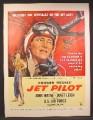 Magazine Ad For Howard Hughes, Jet Pilot Movie, John Wayne, Janet Leigh, Poster, 1957
