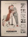 Magazine Ad For Designing Woman Movie, Gregory Peck, Lauren Bacall, Poster, 1957