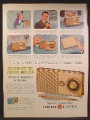 Magazine Ad For GE General electric All-Transistor Pocket Radio, Model 715, 1957