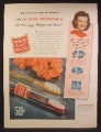 Magazine Ad For Dr. West's Miracle Tuft Tooth Brush, Anti-Soggy, Waterproofed, 1944