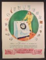 Magazine Ad For Westinghouse Laundromat Home Clothes Washer, Set The Dial, 1948