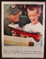Magazine Ad For Texaco Gasoline, Toy Tanker The North Dakota Ship Offer, 1961