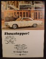 Magazine Ad For 1965 Dodge Polara Car, White, Side View, 1964
