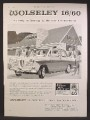 Magazine Ad For Wolseley 16/60 Car, Luxurious Way Of Motoring, 1964