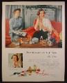 Magazine Ad For Avon Colognes, Fragrance, Perfume, Ellen Raines, 1952
