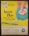 Magazine Ad For Ipana Plus Dentrifice in Squeeze Bottle, Tooth Paste, 1958