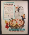 Magazine Ad For Dormeyer Mixer, Ceramic Bowl, New First Name In Mixers, 1944