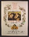 Magazine Ad For El Cid Movie, Charlton Heston, Sophia Loren, Poster, 1961