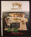 Magazine Ad For Singer Slant-O-Matic 500 Sewing Machine, Slant O Matic, 1961