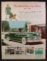 Magazine Ad For Dodge Car, My Husband Has A New Darling, And So Have I, 1950