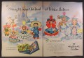 Magazine Ad For Hallmark Cards, Paper Dolls, From The Land Of Make Believe 1954, Double Page Ad