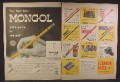 Magazine Ad For Eberhard Faber Pencils Erasers, Office Supplies, 1956, Double Page Ad