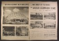 Magazine Ad For Kaiser Aluminum, Revolutionary New Building, Dome Shaped, 1957, Double Page Ad