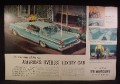 Magazine Ad For 1959 Mercury Montclair 4 Door Hardtop Cruiser Car, Rear & Side View, 1959