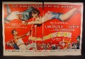 Magazine Ad For Movie Trapeze, Burt Lancaster, Tony Curtis, Gina Lollobrigida, 1956, Double Page Ad