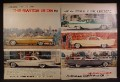 Magazine Ad For Plymouth Dodge De Soto Chrysler Cars, 5 Models, Big Fins, 1957, Double Page Ad