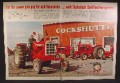 Magazine Ad For Cockshutt Farm Equipment, Tractors, Model 1750, 1968, Double Page Ad