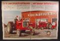 Magazine Ad For Cockshutt Farm Equipment, Tractors, Model 1750, 1968, Double Page Ad