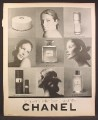 Magazine Ad For Chanel No 5 Perfume, Fragrance, Bath Powder, Eau De Cologne, 1972