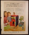 Magazine Ad For Irwin Child Guidance Toys, Dollars And Sense, Shape Register, First Multiplier, 1973