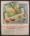 Magazine Ad For Homecraft Professional Dustless Oil Pastels, 1973