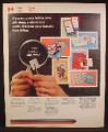 Magazine Ad For Canada Post, Stamp Collecting, Philatelic, 1974