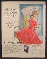 Magazine Ad For Lux Flakes, Loretta Young, All My Lingerie Is Kept Lovely, Celebrity, 1950