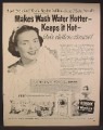 Magazine Ad For Bendix Laundry Washer, Snow White & 7 Dwarfs, Disney, 1952, 10 1/2 by 13 1/2