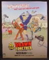 Magazine Ad For Drawn Together, Adult Animated TV Show, Television, Comedy Central, 2004