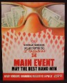 Magazine Ad For 2004 World Series Of Poker Main Event, 2004, 9 1/2 by 12