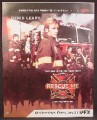 Magazine Ad For Rescue Me TV Show, Television, AFX, Denis Leary, Fireman, 2004, 9 1/2 by 12