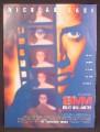 Magazine Ad For 8MM Eight Millimeter Movie, Nicolas Cage, Joaquin Phoenix, 1999