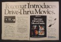 Magazine Ad For Fotomat Drive Through Movie Rentals, Rent VHS Tapes At Booths, 1980