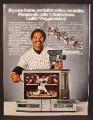 Magazine Ad For Panasonic Omnivision Portable Video Recorder, Reggie Jackson, Celebrity 1980