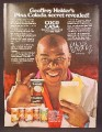 Magazine Ad For Coco Casa Pina Colada Mixes, Geoffrey Holder, Celebrity Endorsement, 1980