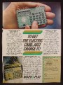 Magazine Ad For American Express Credit Card Calculator, 1980, 8 1/8 by 10 7/8