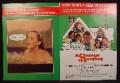 Magazine Ad For A Change Of Seasons Movie, Bo Derek, Shirley MacLaine, Anthony Hopkins, 1980