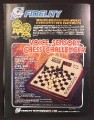 Magazine Ad For Fidelity Electronics Voice Sensory Chess Challenger Electronic Game, 1980