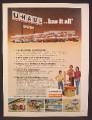 Magazine Ad For U-Haul, Rows Of Trucks, U Haul Has It All, 1981, 8 1/8 by 10 7/8